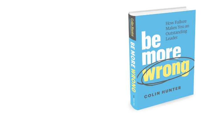 Be More Wrong - Leadership book